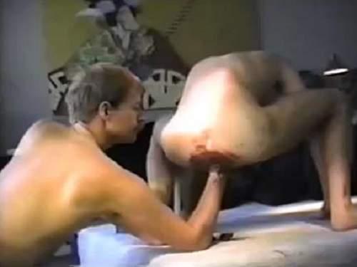 Vintage gays amateur hardcore scat fisting sex - scat domination, scat
