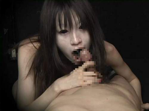 Blowjob by scary looking wife