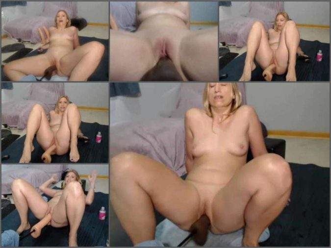 Blonde Teen Milf Threesome