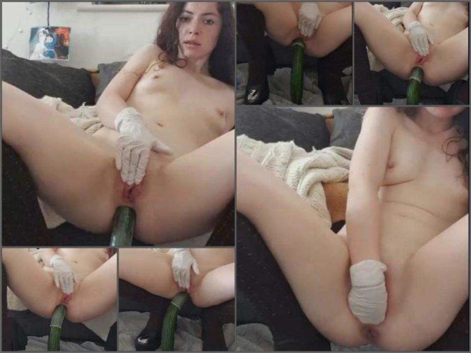 Latina Feet Anal Toy Solo