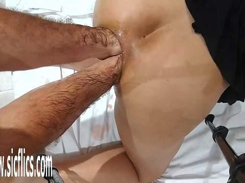 big natural milf masturbating