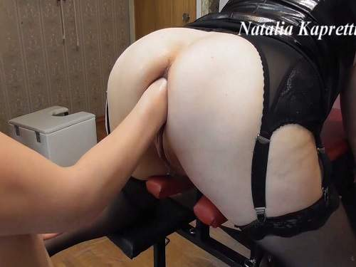 Russian mistress eat shit by shit my happy toilet - scat sex, scat domination