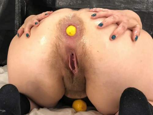 Very hairy booty girl assbandida lemon anal penetration in different poses - Big Ass, anal insertion