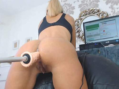 Girl getting fucked by sex machine close ul Cute Booty Blonde Ruined Her Anal Hole With Fucking Machine Closeup Fuckmachine Penetration Download Free Fisting At Our Extreme Porn Hub
