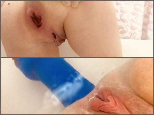 AnalOnlyJessa JohnThomasToys makes my asshole swollen – Premium user Request - large labia, gaping anal