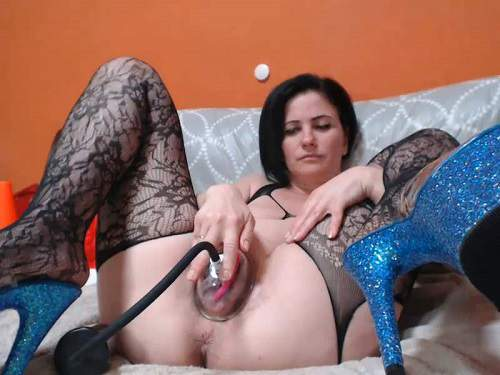 Analvivian vaginal pump porn herself unique webcam - pump, pussy pumping