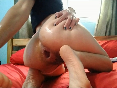 Pipaypipo deep anal fisting and monster dildo rough rides to gaping - huge dildo, dildo porn