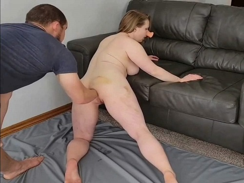Pig wife squirt during fisting sex and gaping hole loose - gape ass, anal stretching